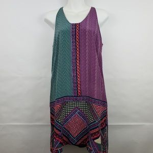 Madison Marcus Green and Purple Dress Size XS